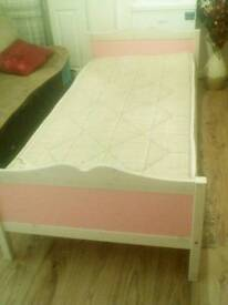 Girls bed single 3x6