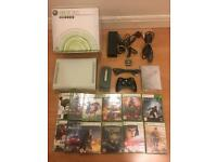 Xbox 360 Console with Hard drive plus 12 games - £69