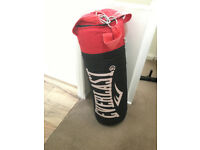 York Punchbag with Stand, Mitts & Outside Brackets