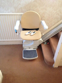 Handicare/Minivator 950 Stair Lift including 2 remote controls