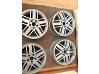 "ford focus mondeo transit connect 16"" alloy wheels 5stud"