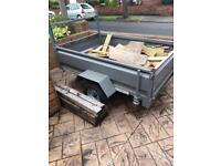 Steel trailer 6x4