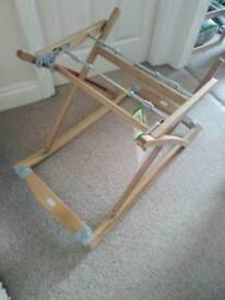 Silvercross moses basket wooden frame