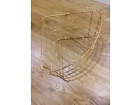 Corner Shelf Plate Racks Stand Holder 3 Tier Kitchen Cupboard Organiser Storage Polytherm Copper