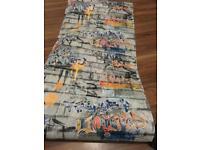 Wallpaper 2rolls cost 18 each roll b&q