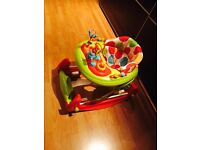 Brand new baby's 2 in 1 walker to swing ... excellent condition