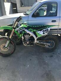 Kawasaki Kxf 450cc dirt bike mx bike ( not rm , yzf)