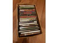 Box of 22 pop CDs