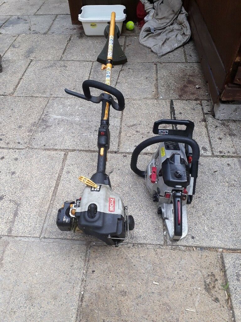For sale petrol strimmer and chainsaw speares or repiar | in Morriston,  Swansea | Gumtree