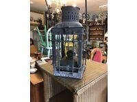 American Galvanized Station Oil Lantern