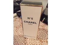 No5 Chanel body lotion