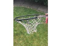 Basket ball hoop, new net
