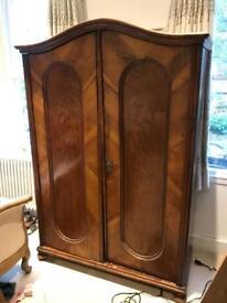 Victorian hardwood wardrobe