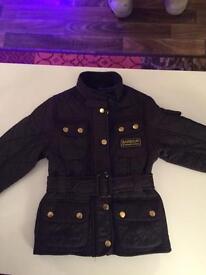 Girls black designer Jacket