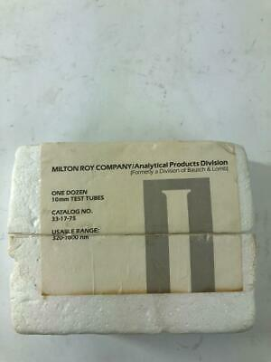 Spectronic 20 Spectrophotometer Cuvettes 10 Mm 320-1000 Nm 33-17-75