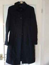 Karen Millen Coat size 10 Mid Length