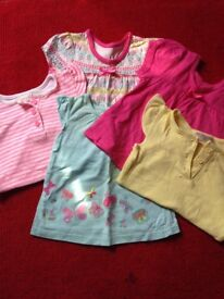 Bundle of baby girls clothes age 0-3 months