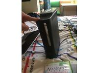 Xbox 360/ 120GB/ WIFI Adapter/4 Games/ 2 Remotes