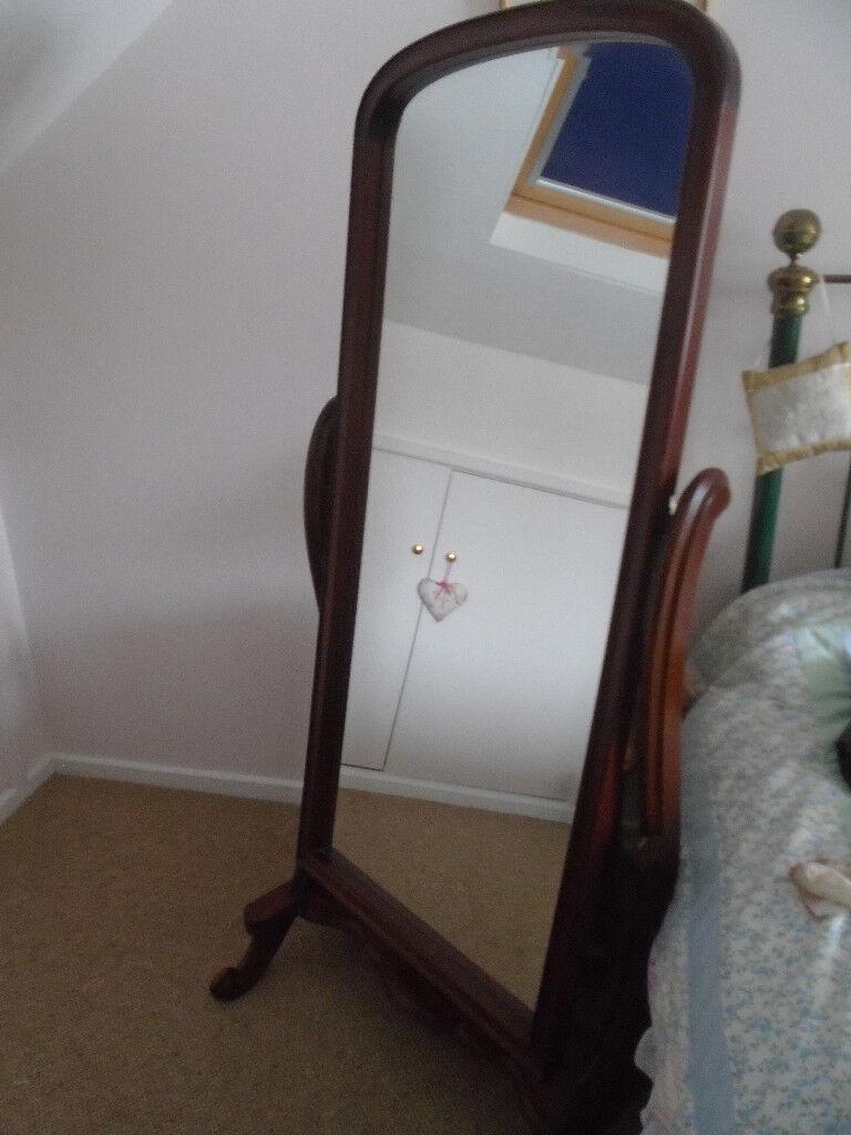 Gany Victorian Style Cheval Full Length Mirror Between Aylsham Sheringham