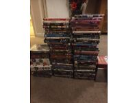 Multiple dvds for sale as a bundle 100 dvds