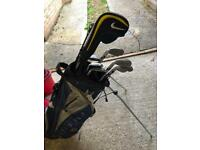 Nike golf clubs with bag
