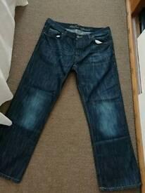 Men jeans,38 W-30 L, big size one,