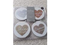 4 x Heart Coasters