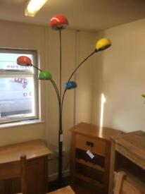 Multicoloured overhanging lamp * free furniture delivery *