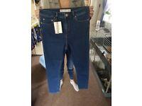 Womans ASOS dark denim jeans