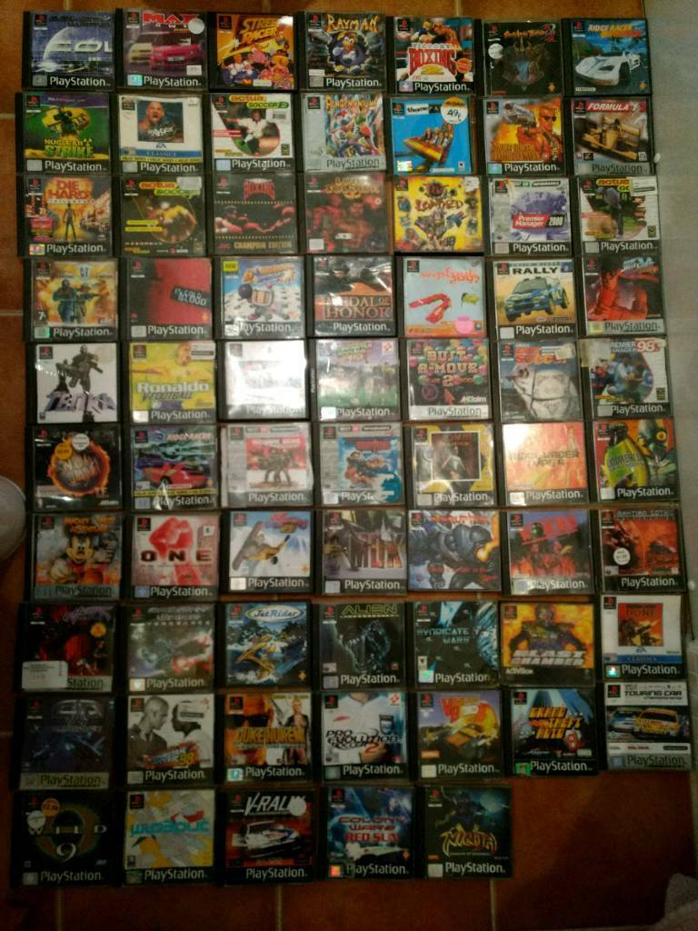 Ps2 Games All Of Them : Ps playstation games job lot boxed pal in