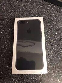 Apple Iphone 7 plus - 32gb black on EE