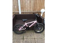 Girls 20 Inch Rhino Angel BMX Bike