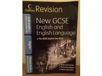 Used Collins Revision New GCSE English and English Language book