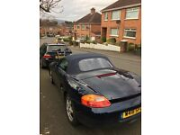 2000 2.7 Porsche Boxster convertible with hardtop.