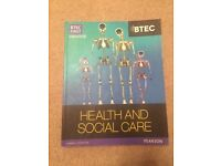 BTEC First Health and Social Care ISBN 9781446901359