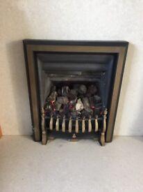 Gas chimney set