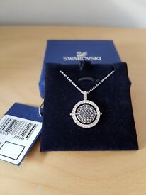 Genuine Swarovski Reversible Pendant ***New and Boxed***