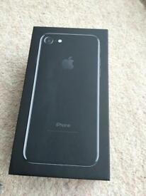 iPhone 7 256gb Jet Black brand new