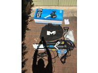 MacAllister MBVP3000M electric leaf blower/vacuum