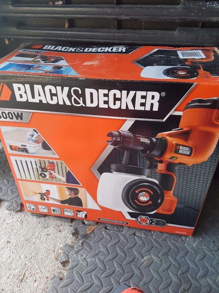 Black & Decker Spray Paint Gun