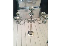 Medium hexagon base candelabra