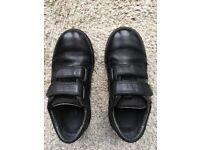 Boys Ricosta school shoes Size UK11 in black