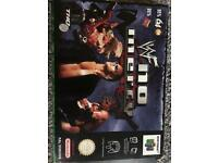 WWF no mercy n64 game
