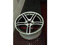 """Bmw 313 m sport 19"""" alloys wheels fully refurbished"""