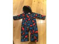M&S boy's snowsuit 12-18 months £15