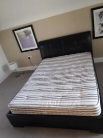 Foux Leader bed frame and matress