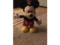Dance and shout mickey mouse