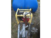 Brendon bowser powered with a Honda engine and karcher pump PRICE REDUCED £250