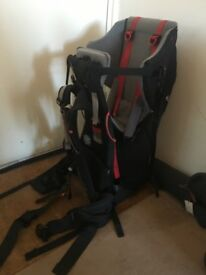 Bush baby Back Pack Carrier with rain cover and storage