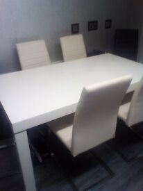 Dining table n 6 chairs